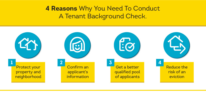 4 reasons to conduct a tenant background check